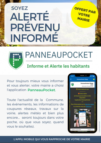 Panneau Pocket - Informe et Alerte Les Peyrouliers
